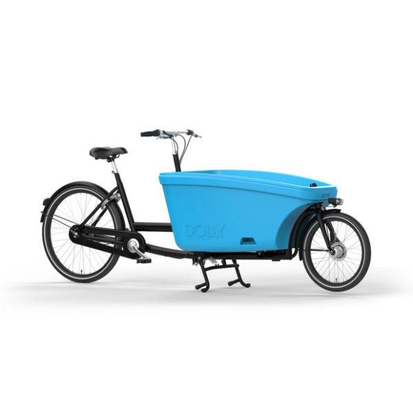 Dolly Bike mattschwarz/shiny blue