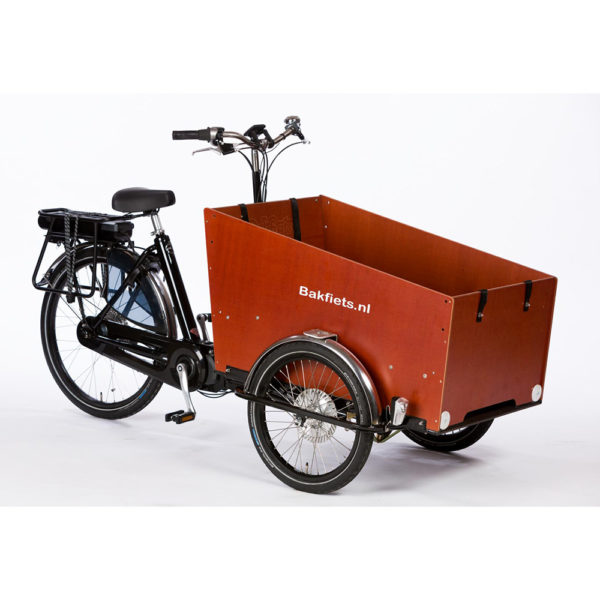 Bakfiets Cargo Trike Wide mit E-Antrieb