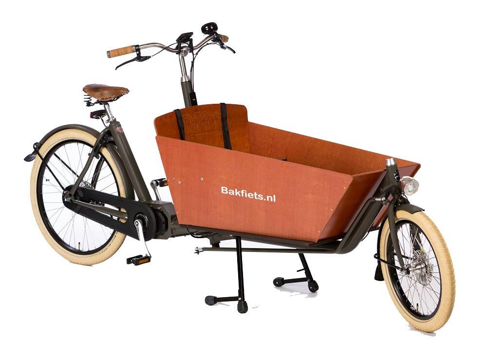 Bakfiest Cargo Bike Cruiser Long elektrisch